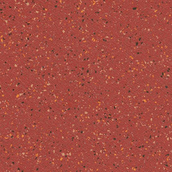 Красный противоскользящий линолеум  Tarasafe Ultra 4128